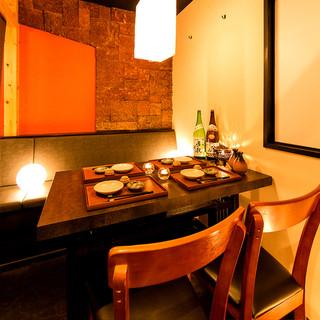 居心地の良い《完全個室》でご宴会をお楽しみ下さい。