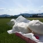 甲子園饅頭 - 料理写真:肉まん&あんまん
