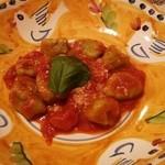 Hostaria Casa Bella - ルーコラニョッキのトマトソース