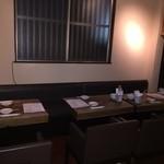 sacra - 奥のテーブル3テーブル(移動できます)