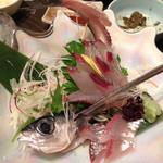 魚菜おもてなし 北河 - トビウオ刺