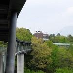 ビアカフェ大山 - 北館の4階、展望休憩所内にあります(遠くに大山が・・)