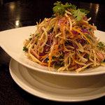 広味坊 - 料理写真:豆腐干絲サラダ