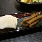 魚介料理 海 - お新香