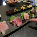 魚介料理 海 - お刺身5種盛り