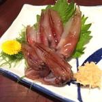 小料理荒井 - 生ほたるいか(600円+税)2015年4月