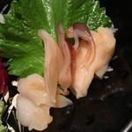 小料理荒井 - みる貝(600円+税)2015年4月