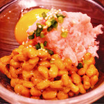 和院 - まぐろ納豆