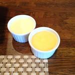 アンソレイユ - 手前がオレンジのバター 絶品です!