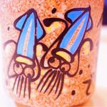 廻転寿司 海鮮 - 湯のみ。かわいい( ●≧艸≦)