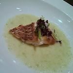 37564772 - 真鯛のポワレキャベツソース