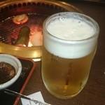 あぶり焼肉煙家 - 2015/05/02 12:00訪問 生ビールお替り♪