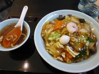 中華料理龍園 - <'15/05/03>五目焼そば