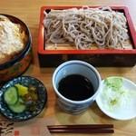 佐野屋 そば店 - カツ丼もり蕎麦セット