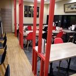 来々軒 - モダンな中華レストランといった雰囲気です