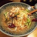 串屋鉄男 - 3.山盛りキャベツの和風サラダ
