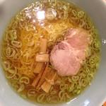 夢館 - 和風ラーメンの小 麺一玉分