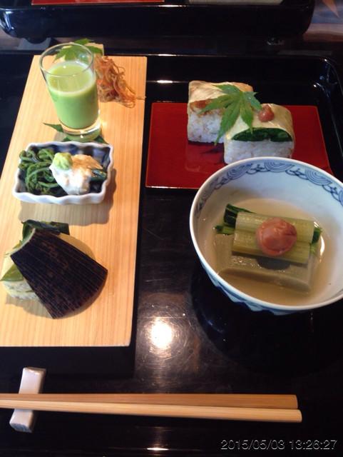 一如庵 - 前菜、寿司、生麩