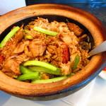 カフェ・シンガプーラ 海南鶏飯 - クレイポットライス