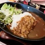 キッチン ムク - カレー(サラダつき)