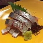 Tomiya - アジの刺身