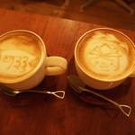 スコップカフェ - GWに行ったらこどもの日仕様のラテアートで感激*