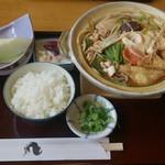 勢川 - みそ煮込み830円にプラス150円で定食に!