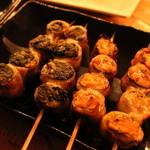 風味や 春 - 高菜と豚肉の相性グー!キムチの肉巻きもクセになります。