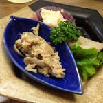 松竹 - 料理写真:お通し