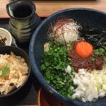 37577476 - 肉味噌和え麺