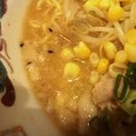 福龍 - スープの表情 出汁を前面に出した備後の味噌ラーではない