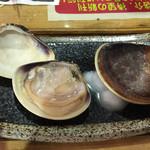 魚のてっぺん - 焼き蛤 大2個で1000円