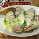 魚のてっぺん - 蛤バター焼き @600-