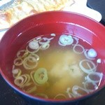 みさき - 料理写真:味噌汁