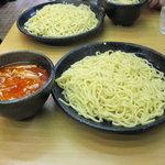 つけ麺道 五郎 - つけ麺道 五郎:味噌ピリ辛つけ麺