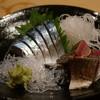 鮨庵さいとう - 料理写真:光輝く生サバ刺