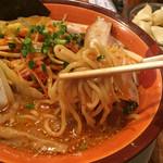 味噌屋 清兵衛 - 中太麺