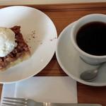 テ ト テ - 手作りアップルパイが美味です