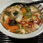 京らーめん 糸ぐるま - 酸辣湯麺