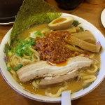 麺極 はなみち - 辛濃味噌(ワルフザケ)