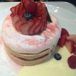 37586651 - ケーキみたいなフレンチパンケーキ