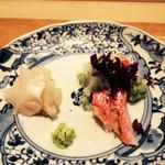 吉い - H27.4月 金目鯛とミル貝♡