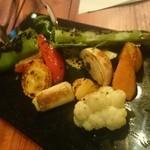 フミーズ・グリル - 炭火焼き野菜