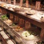 豆乃畑 - たくさんのお料理が並んでました♪