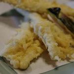 魚昇 - 穴子(あなご)天麩羅(てんぷら)