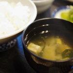 魚昇 - 未醤汁(みそしる)