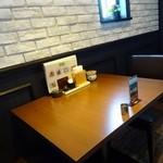 風音 - テーブル席