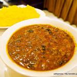 リトル アジア - ほうれん草と豆のカレー 辛口