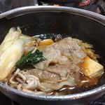 37595944 - 初日の夕食(すき焼き)