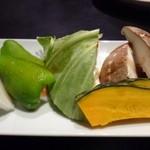 金剛園 - 焼き野菜(500円)